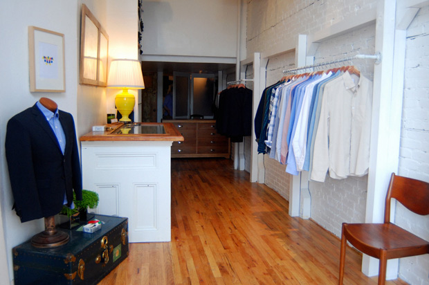 In An Effort To Bring Bespoke Tailoring A Broader Audience Brooklyn Tailors Will Open Their First Official Retail Space This Saturday 30 July 2011