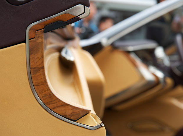 Wood Interior Car creating the cadillac ciel's wood interior - cool hunting