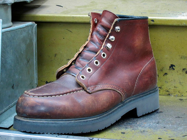 Red Wing Shoes Repair Service - Cool Hunting