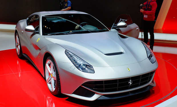 Captivating Ferrari F12