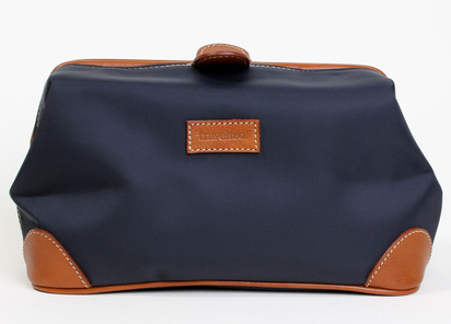 in the neverending hunt for the perfect dopp kit we recently tried latest contender the travel wash bag accented in fine florentine vachetta