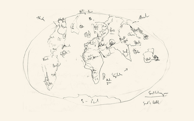 World Map Archive Cool Hunting - World map germany