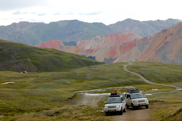 Off Piste On The Trans America Trail With Land Rover
