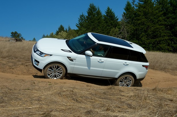Test Drive 2014 Range Rover Sport  Cool Hunting