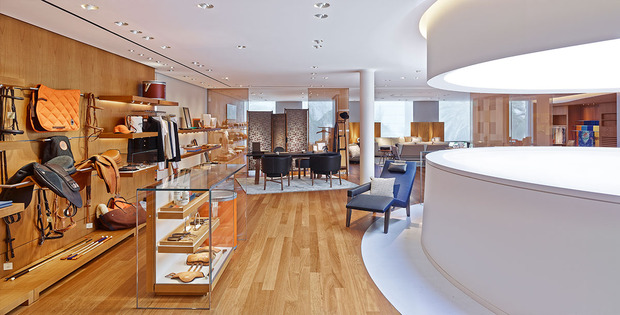 Hermes store interior images for Hermkes interieur