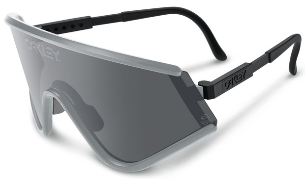 oakley goggle sunglasses  the eyewear giant re releases three original 80s designs to celebrate their 30th anniversary; oakley goggle glasses
