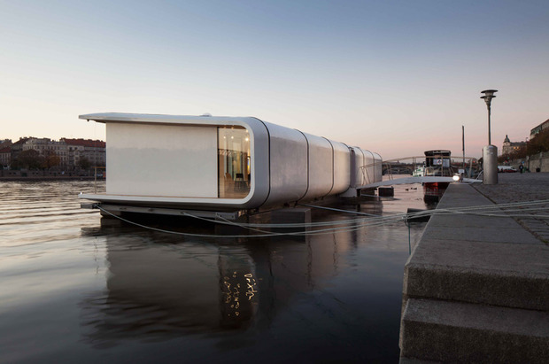 Exceptional On The Banks Of The Pragueu0027s Vltava River Lies One Of Europeu0027s Most  Inventive Housing Concepts. Designed By Architects Jerry Koza And Adam  Jirkal, ... Good Ideas