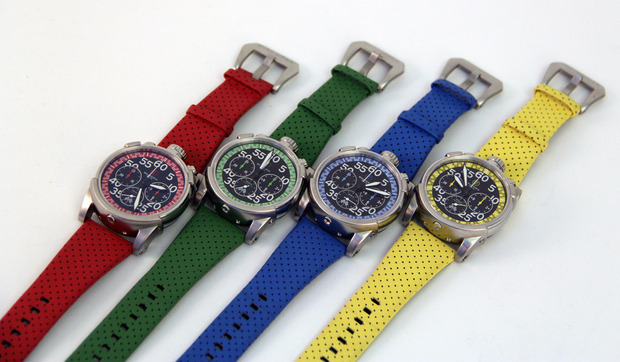 ct scuderia's city racer chronographs - cool hunting
