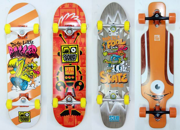 solid skateboards for kids cool hunting