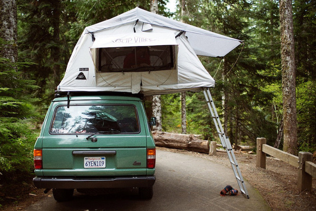 rooftop-tents-poler.jpg & Three Rooftop Tents for Summer Adventures - Cool Hunting