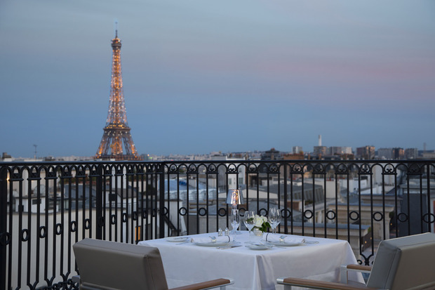 L 39 Oiseau Blanc Atop The Peninsula Paris Cool Hunting