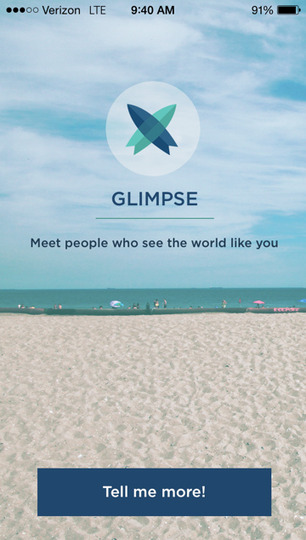 Glimpse Dating App Update - Cool Hunting