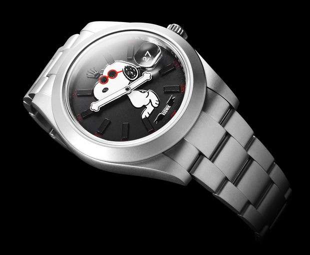 Snoopy bamford watch department rolex cool hunting for Snoopy watches