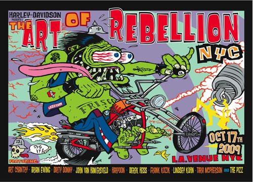 The art of rebellion poster giveaway cool hunting rebellion poster 1g thecheapjerseys Images