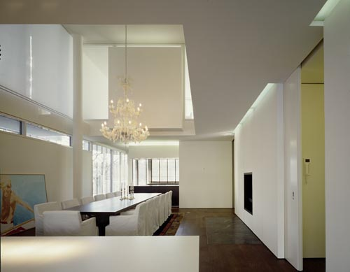 above left) Tianjin Villa, copyright Richard Meier & Partners ...