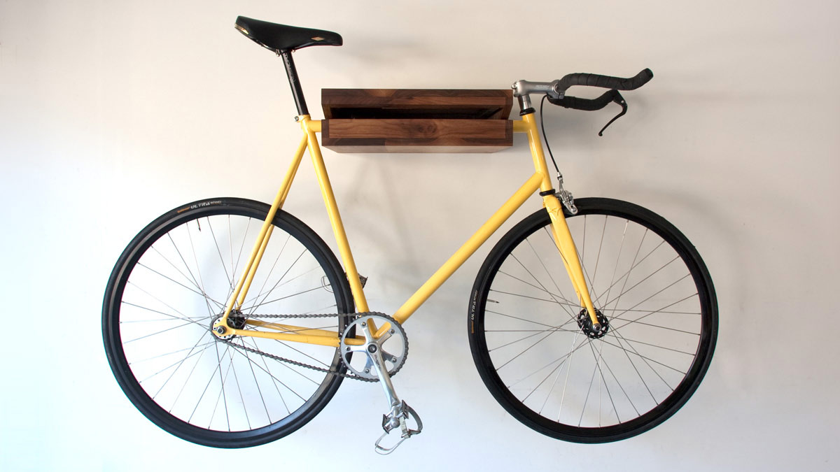 Bike shelf cool hunting Bicycle bookshelf