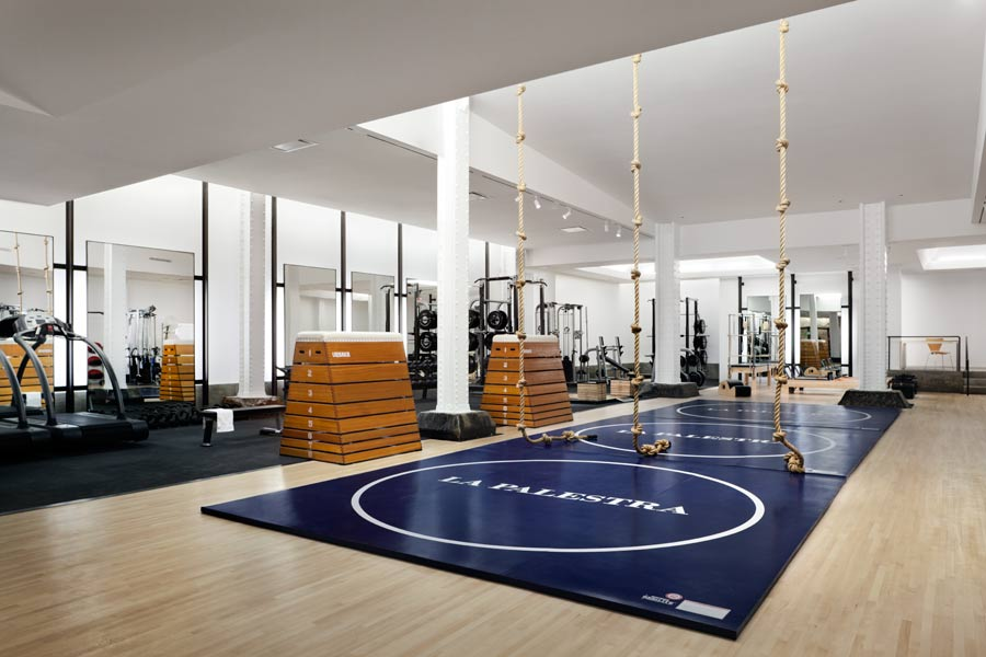garage boxing gym ideas - La Palestra Cool Hunting