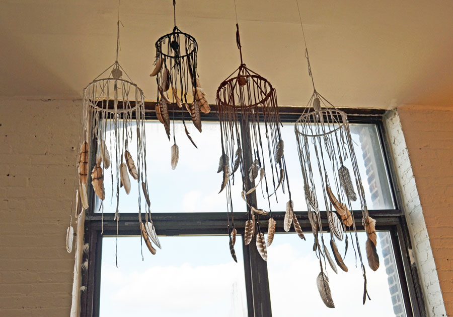 Where To Hang Your Dream Catcher Studio Visit Electric Love Cool Hunting 23
