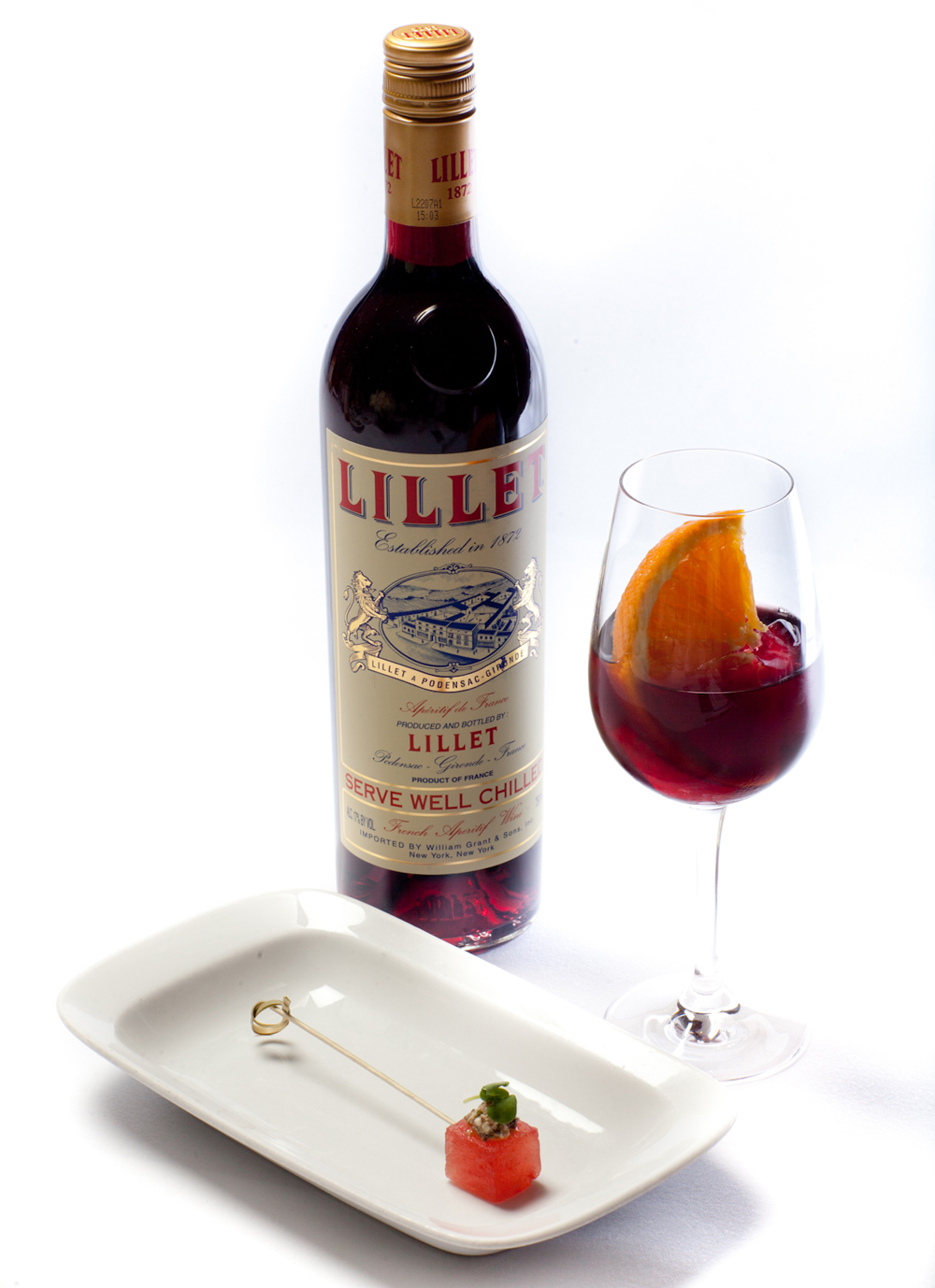 Lillet Rouge And Cherry Cocktail Recipes — Dishmaps