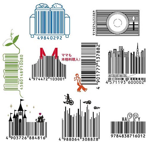 Japanese Barcode Design - Cool Hunting