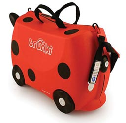 Trunki Kids Ride-On Suitcases - Cool Hunting