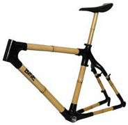 bamboo bike frame