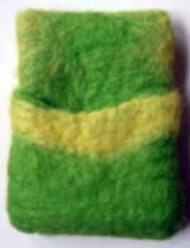 Feltcafe Ipod Green Yellow