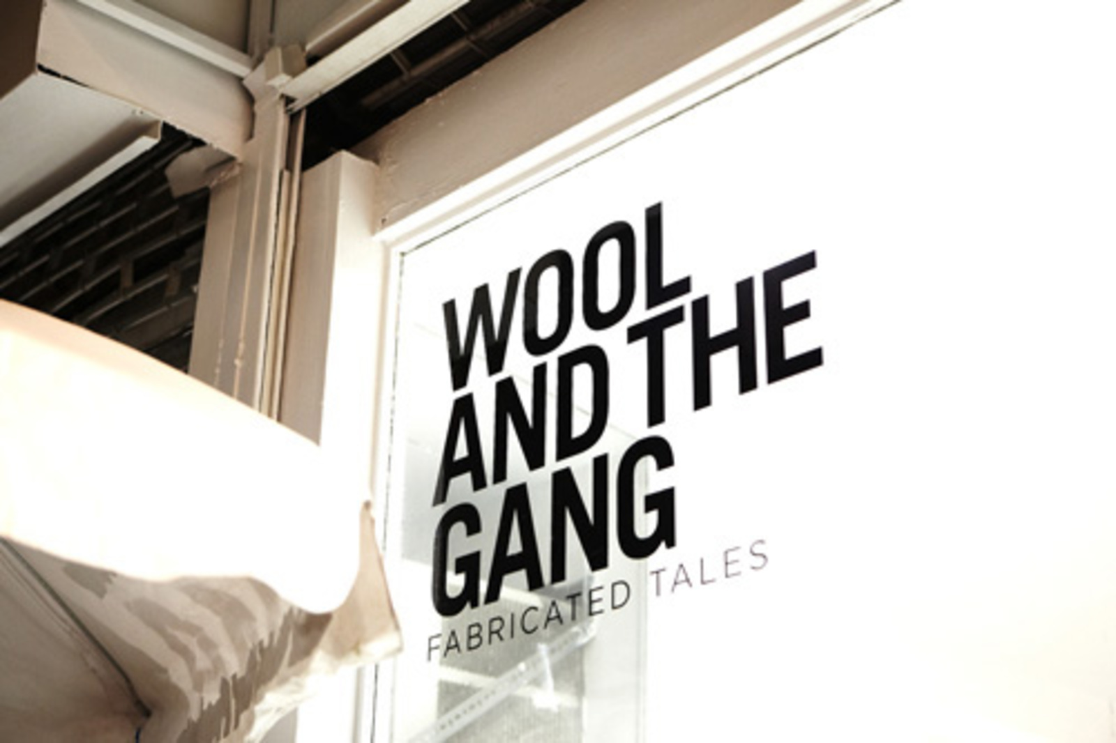 wool and the gang studio nyc cool hunting. Black Bedroom Furniture Sets. Home Design Ideas