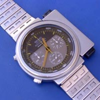 1986 Seiko Speedmaster by Giorgetto Giugiaro