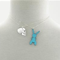 Jeff Koons Bunny Necklace