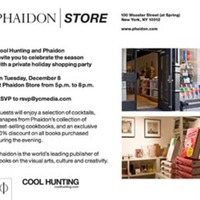 Cool Hunting x Phaidon Holiday Shopping Party