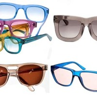 Eight Clear-framed Sunglasses