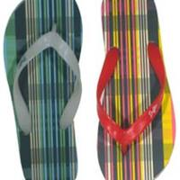 The Duffer of St. George Plaid Flip Flops