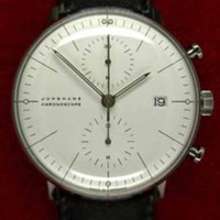 Max Bill Chronoscope for Junghans