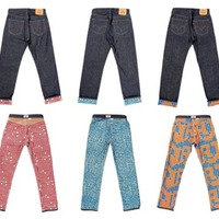 Limited-Edition Graphic Levi's 501 Jeans