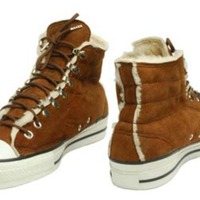 Number Nine Shearling Lined High Top