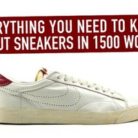 Everything You Need to Know About Sneakers in 1500 Words