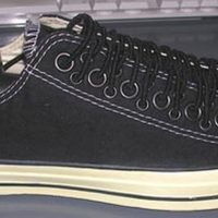 "John Varvatos Converse ""Crazy Laces"""