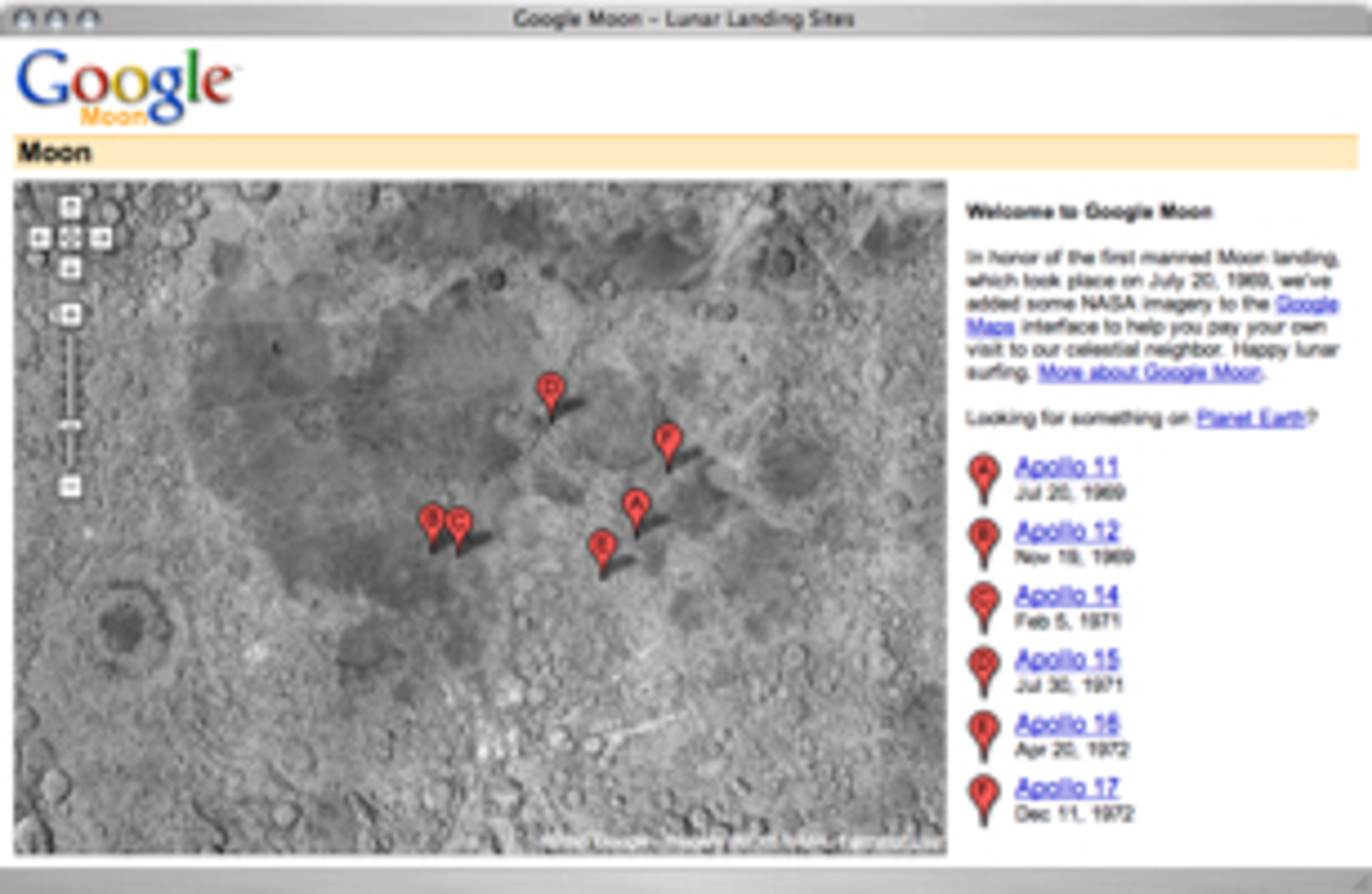 How To Advertise On Craigslist >> Google Moon - Cool Hunting