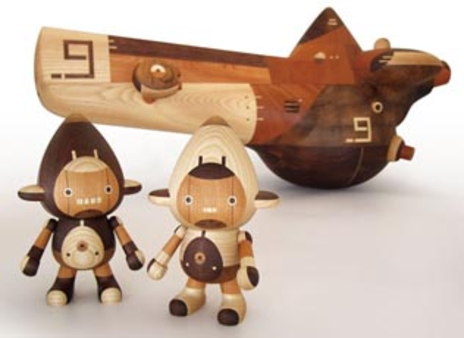 Take G Wooden Robot Toys Cool Hunting