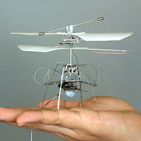 World's Smallest Flying Robot