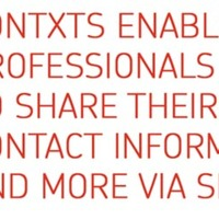 Contxts: SMS Business Cards