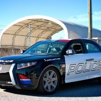 Carbon Motors All-Custom Police Car