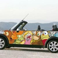 Illustrated Mini Cooper