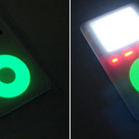 Glow in the Dark iPod Wheel