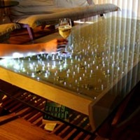 The Wave Interactive LED Coffee Table
