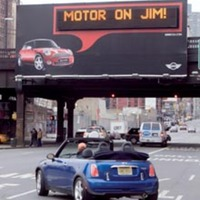 MINI Motorby Billboard