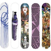 New Monument Artist-Designed Snowboards