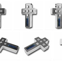 Crucifix MP3 player