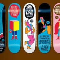 Parra x Enjoi Skateboards